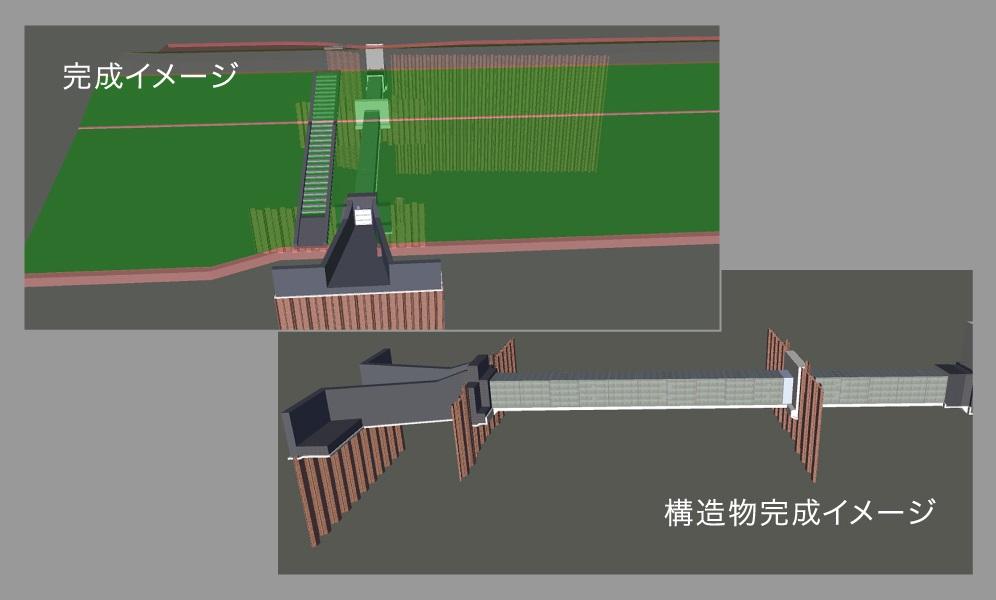 ④ 3次元モデル化