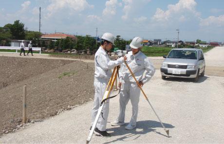 測量機器の使用実習