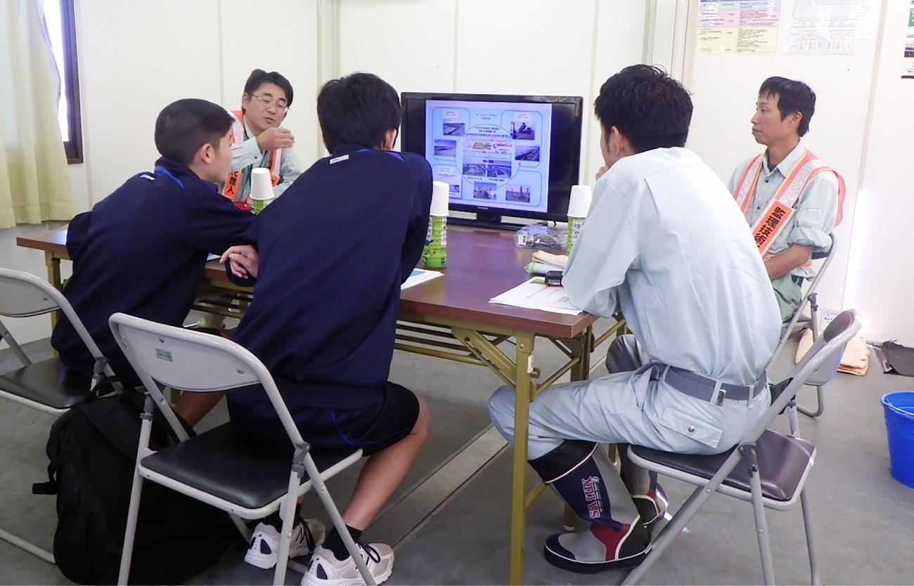 新技術を活用した現場管理方法の学習