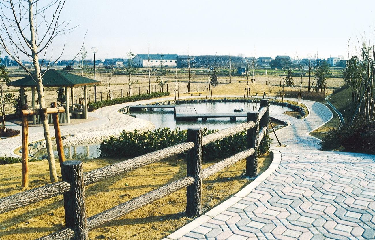 安八歴史の道公園工事 (岐阜県安八町発注)