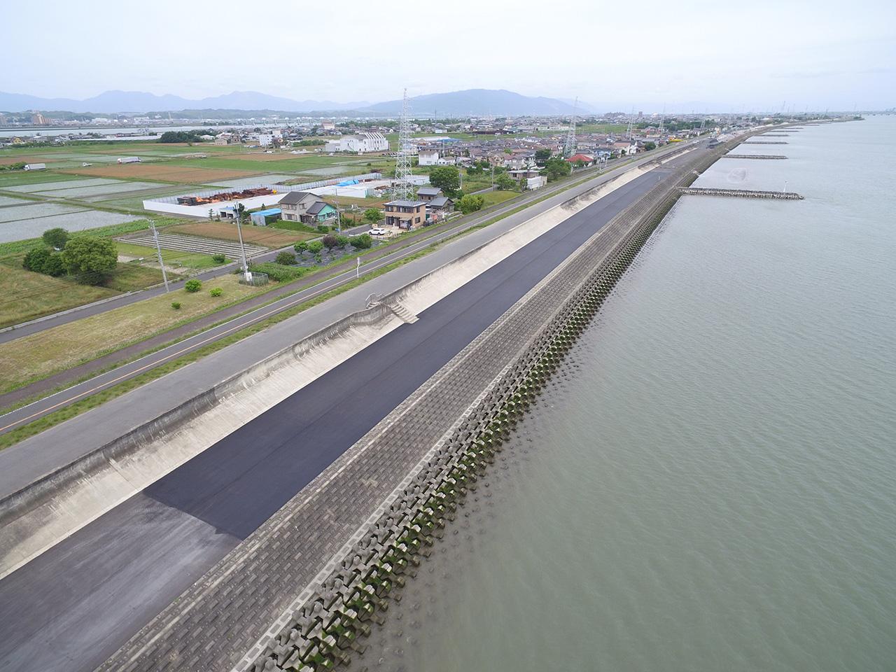 木曽川下流管内耐震補強工事